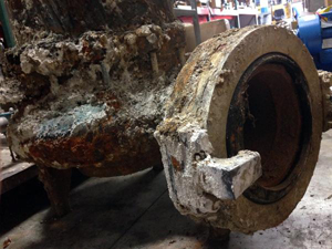 Deteriorated Submersible Pump