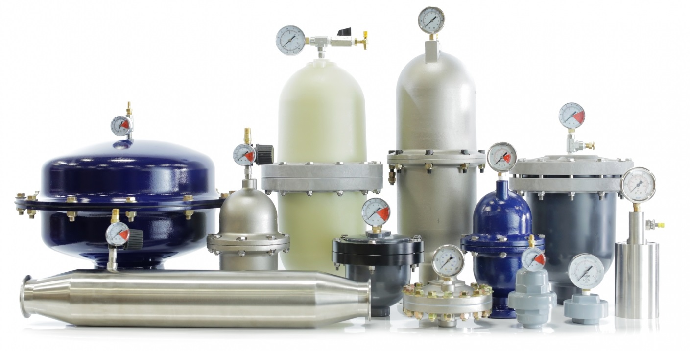 Group of Pulsation Dampeners