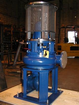 Dry-pit-pump