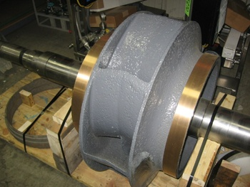 Coated Impeller