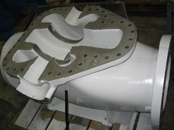 Coated Split Case Pump