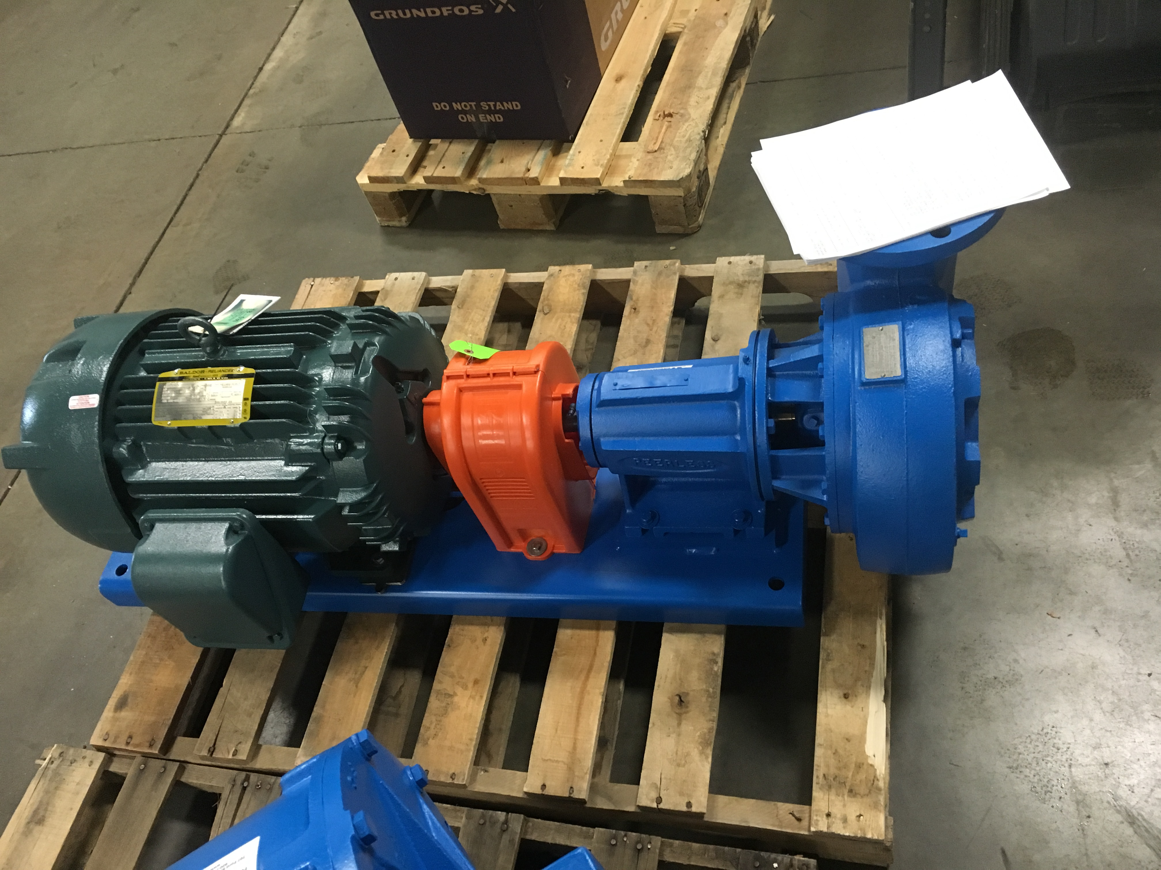 Pump After Repair and Upgrade
