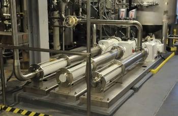 Dairy plant pumps