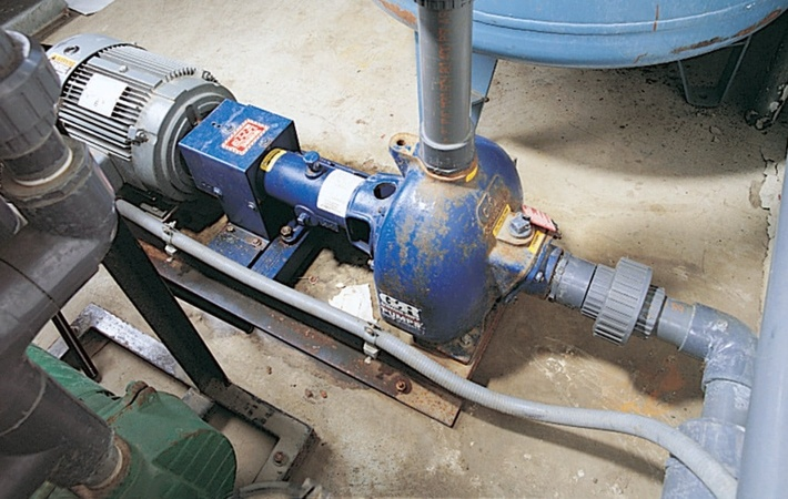 Gorman Rupp Wet Prime Pump