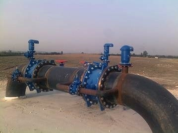 air release valves in piping system