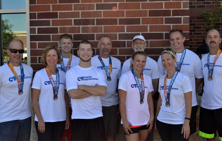 Crane Engineering Encourages Wellness With Fox Cities Marathon Team