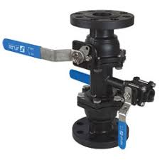 J-Flow Double Block and Bleed Valve