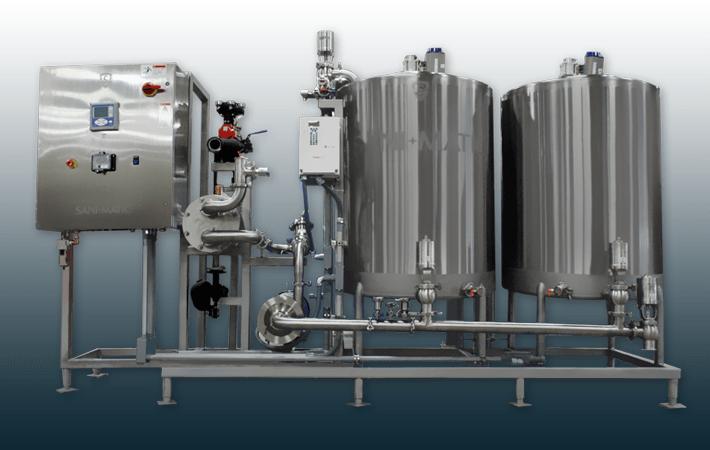 sani-matic-2-tank-cip-system-compressor